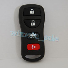 4 Buttons Key FOB Remote Shell Case Fit for Infiniti G35 2003-2006 QX56 2004-2007 I35 2002-04 Q45 2002-06