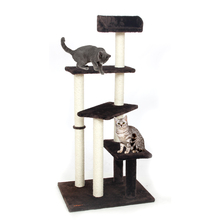 Domestic Delivery Cat Toy Scratching Wood Climbing Tree Cat Jumping Toy with Ladder Climbing Frame Cat Furniture Scratching Post