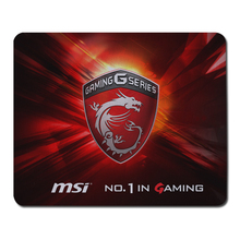 Locking Edge MSI Rubber Mousepad Big Gaming Mouse Pad Gamer Game Computer Desk Padmouse Keyboard Large Play Mats