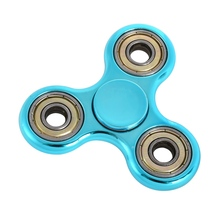 Buy Newest Gold Finger spinner Plating Hand Spinner Autism ADHD Rotation 2 Mins Stress Relief Toys Gift for $1.49 in AliExpress store