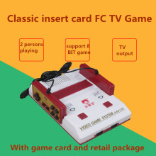 Hot sale D99 Nostalgic Original Video Game Console Player classic Family TV Game Player with 400 in 1 game card for Pal format