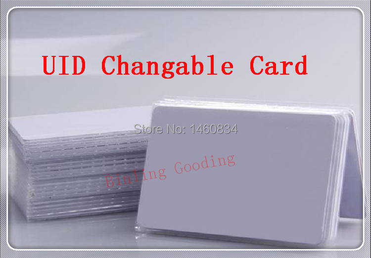 1PCS UID Changeable 1K Card 13.56MHz ISO14443A Block 0 sector zero writable Support Libnfc ProxMark3 Chinese Magic Card Backdoor<br><br>Aliexpress