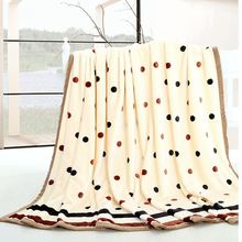 Fashion Brand Super Soft flannel Coral fleece Sofa TV Travel Throw Blanket on Sofa / Bed / Plane Hot twin/queen/king/full size