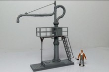 1/87 Model Train ho scale  diy architectural Water crane  material sand table model kit materials Free Shipping