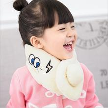 New Fashion ball design kids scarfs Winter Baby Scarf Flannel Girls Warm Scarf solid color Cloth Accessories(China)