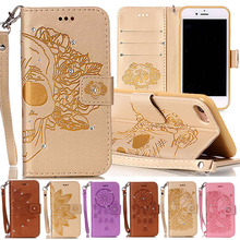 Buy iPhone 7 8 Case Wallet Covers Fundas iPhone7 Leather + Silicona Flip Cover iPhone8 Case Glitter Bling Diamond Phone Case for $5.79 in AliExpress store