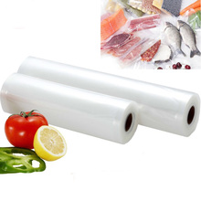 1 Roll 500cm Thick Dots Vacuum Food Bag Fresh Keeping Vacuum Sealer Kitchen Food Saver Storage Bags Practical Vacuum Bags