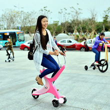 Light weight 3 wheel running bike tricycle