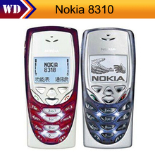 8310 Original Nokia 8310 Unlocked Cell Phone 2G GSM Refurbished Nokia Cellphone Free shipping