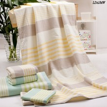 Cotton Cloth thick Increase of Water High-grade Custom Designed Towel Stripes Rose Bear head Large Adult Children Bath towel