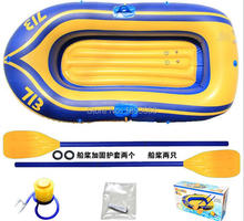 2 person FISHMAN 192x115cm inflatable boat fishing boat PVC kayak, rowing boat, paddle oar pump air cushion bag rubber boat(China)