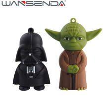 Full capacity Star Wars Usb Flash DriveYoda&Black Knight Pen Drive 4gb 8gb 16gb 32gb 64gb usb stick 2.0 usb flash memory stick