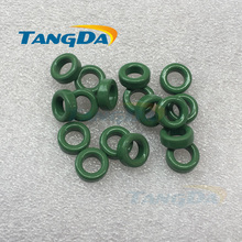 Tangda 10 6 4 insulated green ferrite core bead 10*6*4 mm magnetic ring magnetic coil inductance anti-interference filter A.(China)