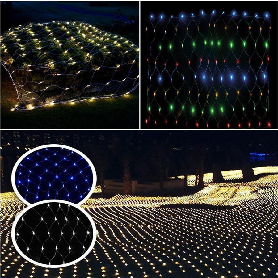 Fairy-String-Xmas-Tree-Net-Mesh-Curtain-Ceiling-Light-1-5x1-5m-96-Leds-8-flash