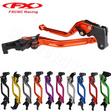 New 10 Colors For Kawasaki ZZR 400 1993-1999 FXCNC Adjustable Lever Motorcycle Brake Clutch Handle ZZR400 1994 1995 1996 1997