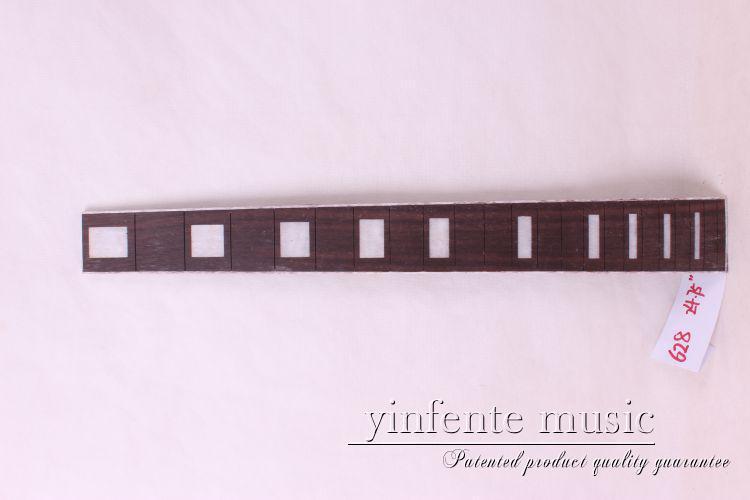 new  high Quality  1 x  24.75electric   Guitar Fretboard electric guitar rose  Wood Fretboard Parts 6# inlay<br>