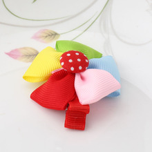 Kids Hair Ornaments Children Flower Headwear Girls Butterfly Ties Hairpins Bowknot Colorful Hair Accessories Bbays Hairclips(China)