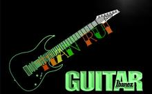 LF087- Guitar Ibanez Music  LED Neon Light Sign