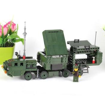 DIY De Noël Jouets Cadeaux pour Enfants KAZI Bâtiments Nano Blocs Enfants Modèle Jouets Éducatifs Jouet Gamme Militaire Armée Série