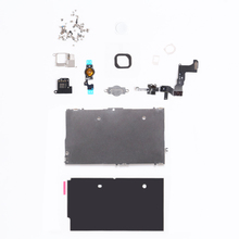 For iPhone 5C LCD Screen Touch Screen Digitizer Metal Bracket Front Camera Ear Speaker Plate home button Repair Parts