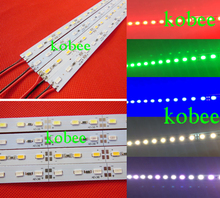 50CM DC 12V 36 SMD 5730 LED Hard Rigid LED Strip Bar Light,red,blue,green color(China)