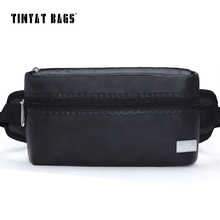 TINYAT 2016 Men Waist Bag Chest Bag Waterproof Multifunction Casual Fanny Pack Belt Bag For Women Shoulder Pack Bag T210 Black(China)