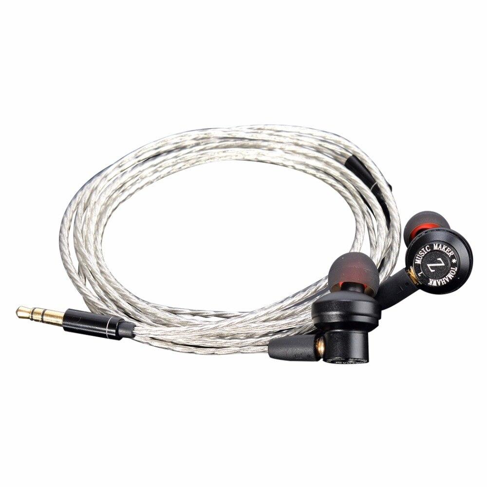 TONEKING Music Maker Tomahawk MrZ ZFRE1 Dynamic Driver High Fidelity  In-Ear Metal Earphones HIFI Music Headset <br>
