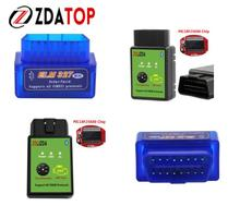 Mini ELM327 V1.5 OBD2 Code Reader Scan Tool Bluetooth Interface Green ELM327 PIC18F25K80 Chip V1.5 OBDII Mini ELM327 for Android