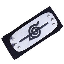 Anime cosplay naruto headband Leaf Village Logo Konoha Uchiha Itachi Kakashi Akatsuki Members costume Accessories