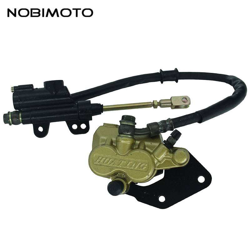 New Dirt Bike 110cc Rear Brake Assembly Off-road Motorcycle Apollo pump Disc Brake Caliper Assembly Up And Down the Pump DS-133<br>