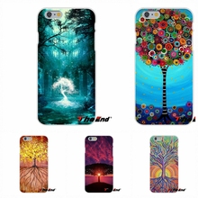 Natural world The Tree of Life pattern For Motorola Moto G LG Spirit G2 G3 Mini G4 G5 K4 K7 K8 K10 V10 V20 Soft Silicone Case(China)