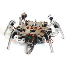 Arduino Programming Bionic Spider Robot 6 Foots Robot Large Torque Servo with Ps2 Controller