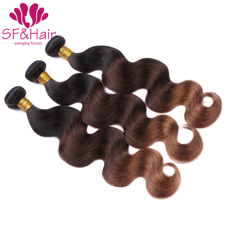 Grade 8A Ombre Brazilian Hair T1B/4/30 Body Wave 3 Bundles Ombre Human Hair Bundles Brazilian Grace 3 Tone Ombre Hair Extensions<br><br>Aliexpress