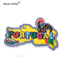 Free Customized OEM/ODM Promotional Gifts With Your Logo Magneto Fridge Magnets Gift Items Souvenir Portugal 1000PCS/Lot (RC-PT)