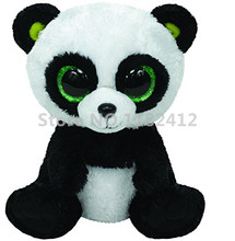 Beanie Bamboo Panda Bear Plush Toy Cute Stuffed Animals With Big Eyes 6'' 15cm Baby Kids Toys for Children Gifts