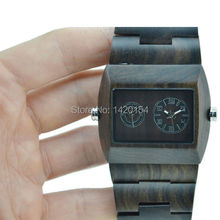 Gift Items Handmade Ebony Sandalwood Bracelet Watch Bewell Wood Watches Made in China