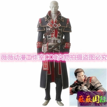 Children's Boys kids Assassins Creed Cosplay Costume Shay Patrick Cormac Costumes Outfit Suit For Adult Men Custom Made(China)