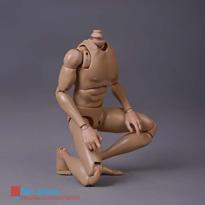 1/6 Scale Military Figures Standard Male Muscle Man Narrow Shoulders Nude 12 Action Figure Body Skin Color Free Shipping <br>