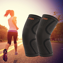 Breathable warmth Basketball Football sports safety Kneepad volleyball Knee Pads Training Elastic Knee Support knee protect(China)