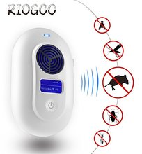 Ultrasonic Electronic/Electromagnetic Wave Pest Repeller Reject Effective Safe Insect Rodent Mosquitoes Control Ama Best Selling