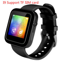 Smart Watch I9 MTK2502c for IOS Android phone Support Pedometer Sleep Monitor Remote Camera Mp3/Mp4 Kid Smartwatch phone(China)