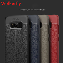 Luxury Soft TPU Leather Design Case For Samsung Galaxy A3 A5 A7 2017 J3 J5 J7 2017 Prime 2016 Note 8 S7 S7 Edge S8 Plus Cases