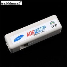 New RJ11 ADSL Line Splitter Fax Modem Broadband Phone Network Jack Noise Filter(China)