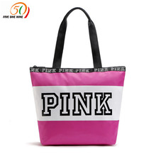 Weekend Travel Tote Bag Cosmetics Bag Pink WATERPROOF VS bag(China)