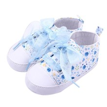 3 Color Newborn Baby Girls Princess Fashion  Shoes Floral Infant Soft Sole Baby First Walker Toddler Shoes Lowest Price