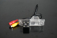 HD Car Rearview Rear view Back up camera For Hyundai Elantra With Parking Line Waterproof Night Vision 4LED(China)