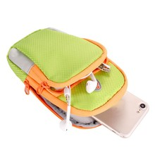 Outdoor Sport Running Arm Bag Wrist Pouch Exercise Fitness Jogging Gym Adjustable Waterproof Phone Arm Bag(China)