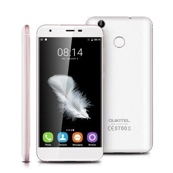 Oukitel K7000 5.0 pouce MTK6737 Quad Core Téléphone Portable Android 6.0 HD 4G LTE Smartphone 2G RAM 16G ROM Dual SIM Mobile Téléphone