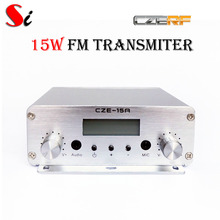 CZE-15A 15W stereo PLL FM transmitter broadcast radio station(Hong Kong)