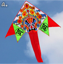 New High Quality Peking Opera Kite /Drama Kites With Flying Tools As Gift For Kids Outdoor Fun Toys(China)
